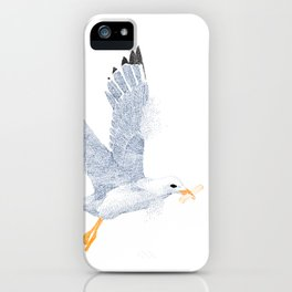 Don't feed the seagulls iPhone Case