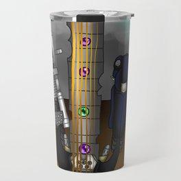 Fusion Keyblade Guitar #177 - Fenrir & Fenrir X Travel Mug