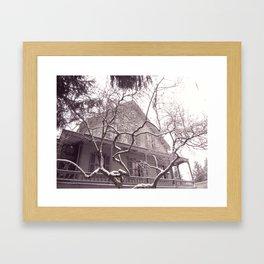 Irving House Framed Art Print