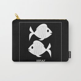 Fishes ~ Pisces ~ Zodiac series Carry-All Pouch