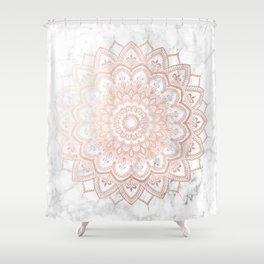 Pleasure Rose Gold Shower Curtain