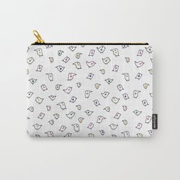 Funny Birds Carry-All Pouch