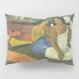 Paul Gauguin - Arearea / Joyousness I (1892) Pillow Sham