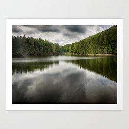 Marilla Reservoir - Bradford, PA Art Print