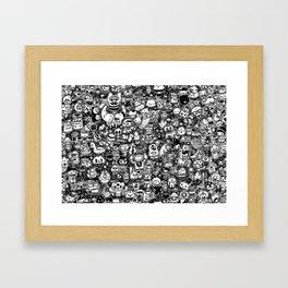 lichi! Framed Art Print
