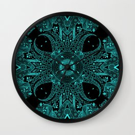 Tentacle void Wall Clock