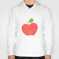 apple Hoodies featuring apple by Berreca