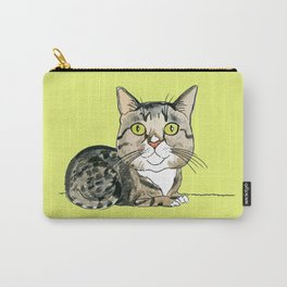 Green-eyed Cat Carry-All Pouch