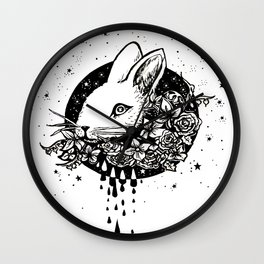 The Year of The Rabbit Wall Clock