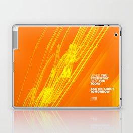The Love Series 200 Orange Laptop & iPad Skin