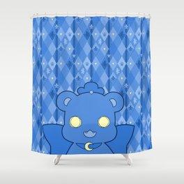 Monochromatic Kuma Kureha Shower Curtain