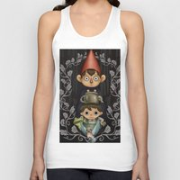 over the garden wall Tank Tops featuring Over the Garden Wall. by toibi