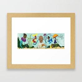 Caribbean Pickney (Children) Framed Art Print