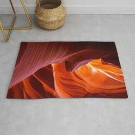 SCULPTURE OF NATURE ANTELOPE CANYON ARIZONA PHOTOGRAPHY Rug