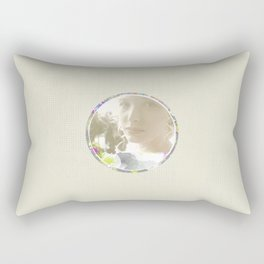 Bride - White Rectangular Pillow