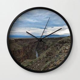 Rio Grande Gorge Wall Clock