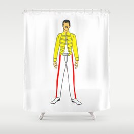 Champions 6 Shower Curtain