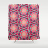 the thing Shower Curtains featuring Sweet Thing by Truly Juel