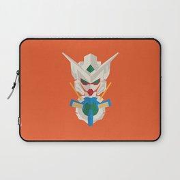 gundam exia flat design Laptop Sleeve