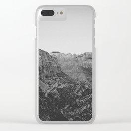 ZION / Utah Clear iPhone Case