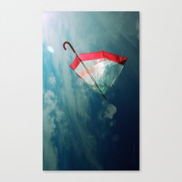 Dreams Series - Le Parapluie II Canvas Print