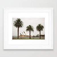 sydney Framed Art Prints featuring Sydney by janisratnieks