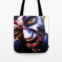 zombies Tote Bags featuring Zombies ! by bobbierachelle