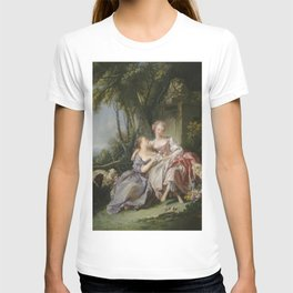 François Boucher - The Love Letter T-shirt