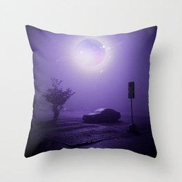 Saturn Nights Throw Pillow