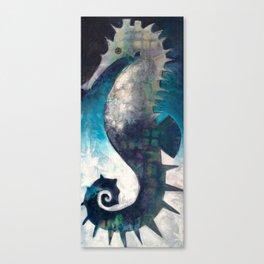 Love like a Seahorse Canvas Print