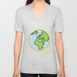 Wherever you go... Unisex V-Neck