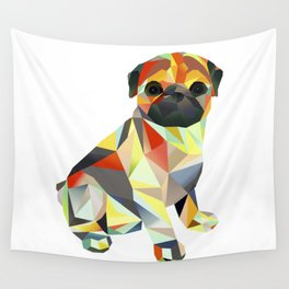Molly Mops Pug Wall Tapestry
