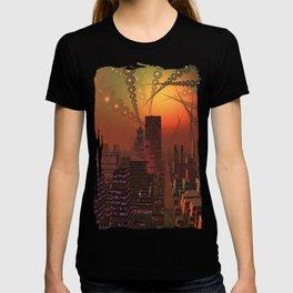 Spherople Alien City T-shirt