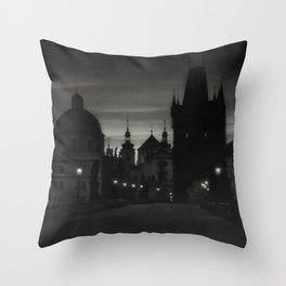 When in Prague (EU trip)  Throw Pillow