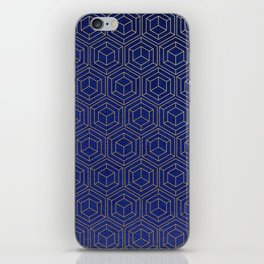 Hexagold iPhone Skin