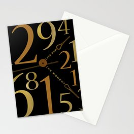 Live For The Moment Stationery Cards