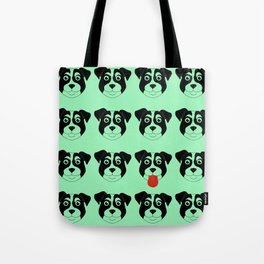 Dogs Green Tote Bag