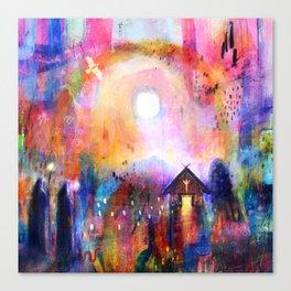 Hámfærelda  - The Road Home Canvas Print