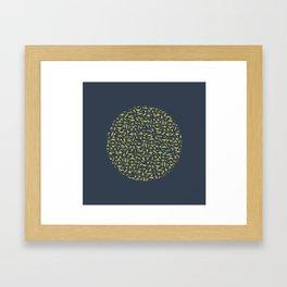 Moon Flora Framed Art Print
