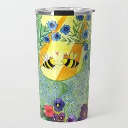 Bumblee Bee LOVE Travel Mug