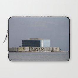 Tampa Bay Beachside Building Laptop Sleeve