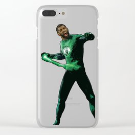 "Kyrie Boston Green Lantern Irving "" Uncle Drew Clear iPhone Case"
