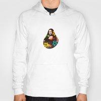 mona lisa Hoodies featuring Mona Lisa by Big AL