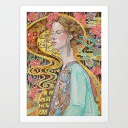 Flower in a Bitter World III Art Print