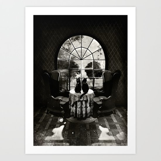 Room Skull B&W by aligulec