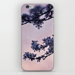 blossoms at dusk iPhone Skin