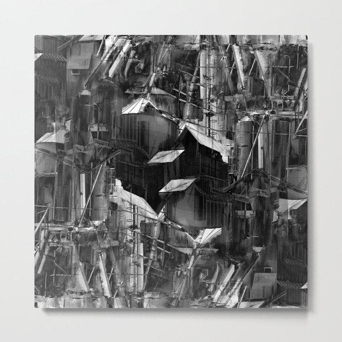 Post-Modern Industrial Complex:  The Art of Regressing Metal Print