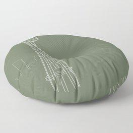 Seattle by Friztin Floor Pillow