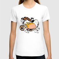 calvin hobbes T-shirts featuring Calvin and Hobbes caricature design by Eric Goodwin