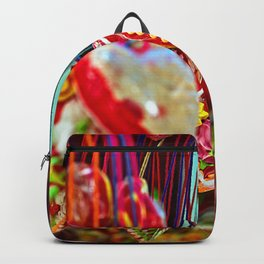 heart color Backpack